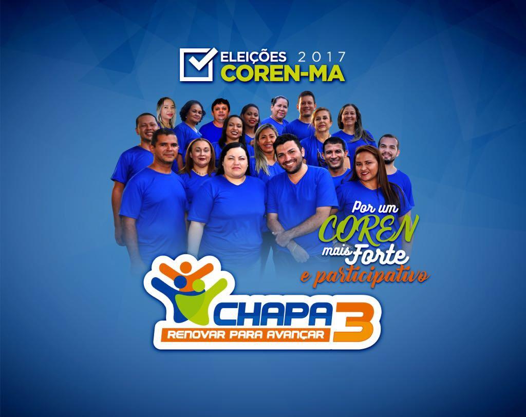 IMG 3778 - Capital e interior apontam Chapa 3 como favorita ao COREN-MA - minuto barra